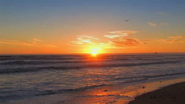 Strand_sunset video
