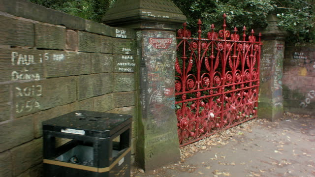 Strawberry Field Gates Liverpool England video