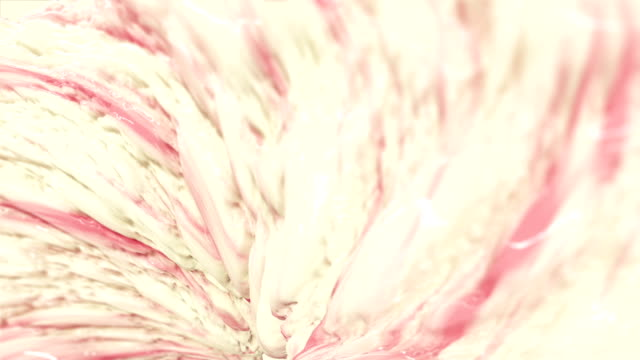 Strawberry Flavored Milk - Seamless Loop. video