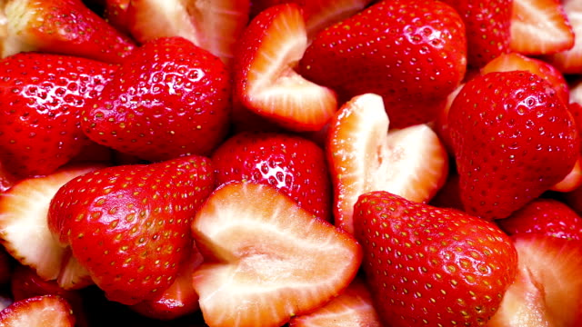 Strawberry Platter Rotating video