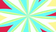 Streaks Animation Seamless loop Pattern with Pastel Color Style video