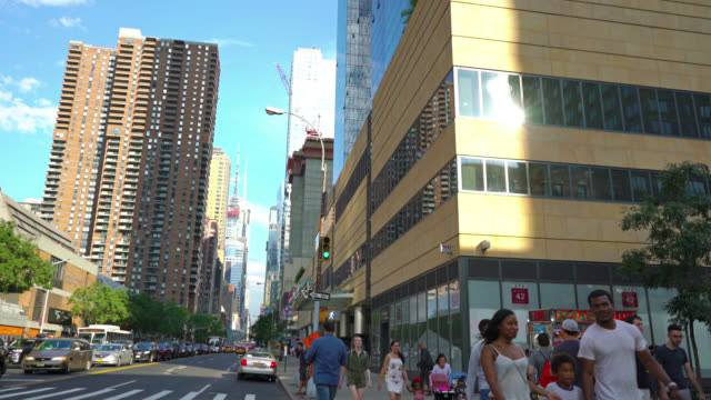42 Street, 10th Ave, New York video