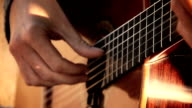 street artist guitarist in the street: acoustic classical guitar video