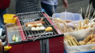 Street food vendors, Jakarta video