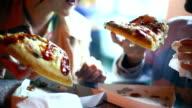 Street food. video