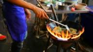 street food yaowarat bangkok thailand video