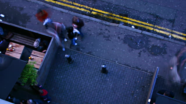 street from above video