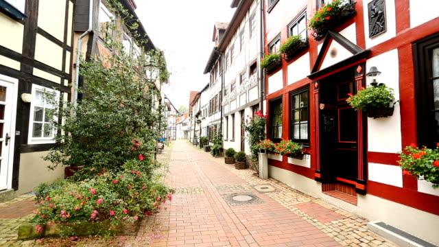Street in Hameln video