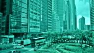 Street in Hong Kong video