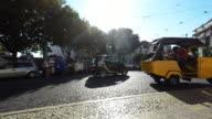 Street in Lisbon video