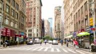Street in new york, USA video