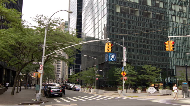 A street in New York video