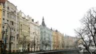 Street in Prague video