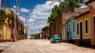 Street in Trinidad - Cuba video
