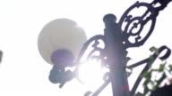Street lamp - Stock footage video