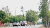 street lamp video