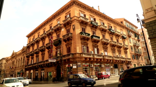 Street of Palermo Italy video