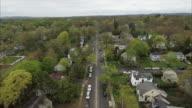 Street Overhead View Of Glen Rock NJ video