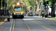 K Street public transport Sacramento video