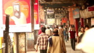 Street Scene in Kolkata (Calcutta), India video