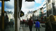 Street Scene In London The Strand (UHD) video