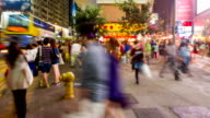 Street Scene of Hong Kong video