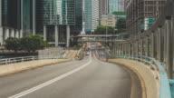Street Traffic Jam Time Lapse in Hong Kong video