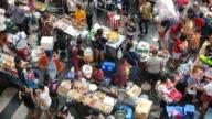 Street vendors in Bangkok video
