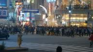 Streets of Shibuya, Tokyo video