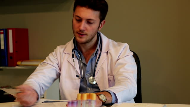 Stressed Doctor video