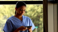 Stressed out healthcare worker video