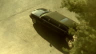Stretch Limousine Morning Sun video