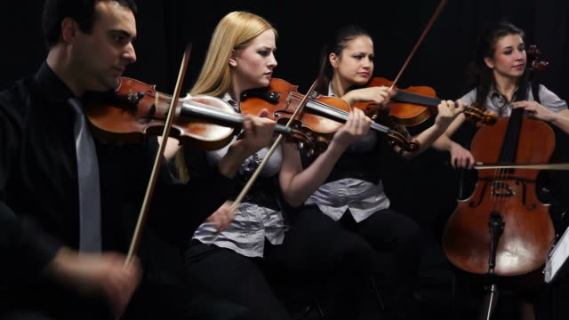 String quartet video