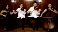 String quartet video