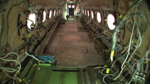 Stripped airplane video
