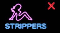 Strippers XXX - Flashing Neon Sign HD video
