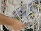 Structured wiring panel mess (NTSC) video