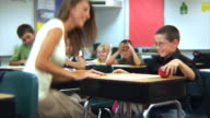 Student gives teacher an apple video