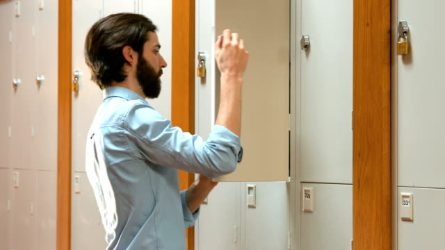 Student going to his locker video