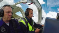 Student Pilot Learning to Fly video