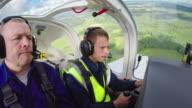 Student Pilot Practicing Turns video