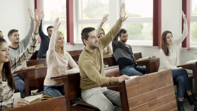 Students at classroom video