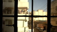 Students chilling in the balcony at sunset in Nairobi video