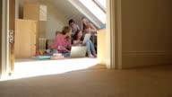 Students Doing Homework video