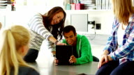 Students in classroom video