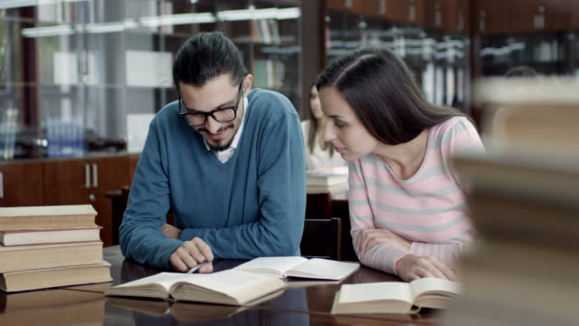 Students In The Reading Room video