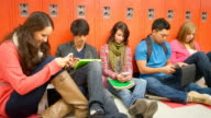 Students pass time with technology video