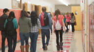 Students rush to class video