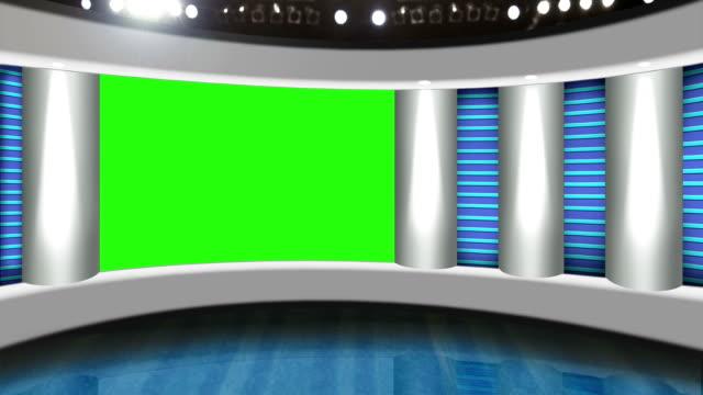 TV studio background video
