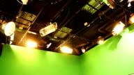 Studio lights video
